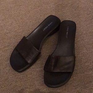 Nine west brown sandals size 7